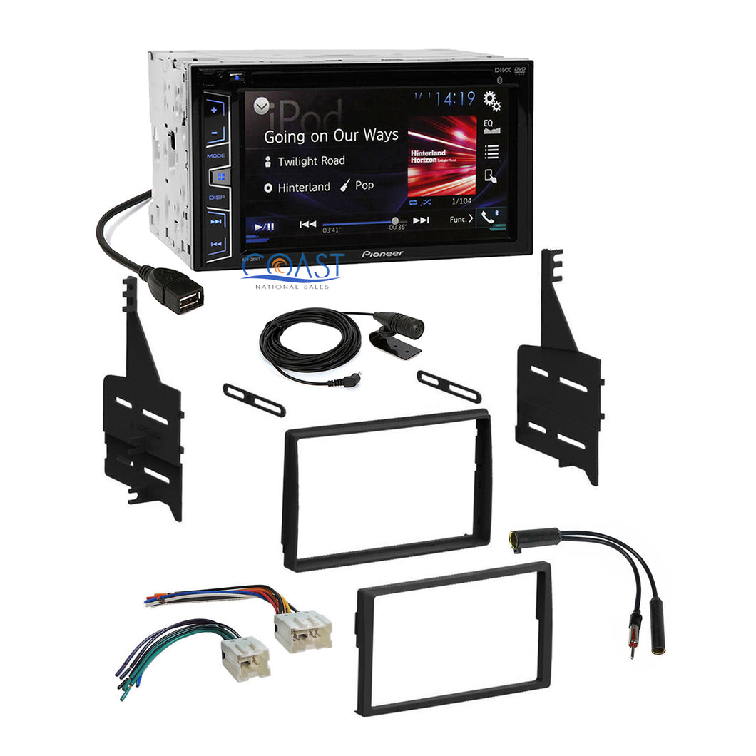 Pioneer Car Radio Stereo Dash Kit Harness Antenna for 2005-2006 Nissan Altima