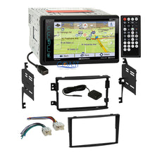 Load image into Gallery viewer, Soundstream DVD GPS Bluetooth Stereo Dash Kit Harness for 2006-08 Nissan 350Z