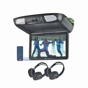"Planet Audio Roof Overhead LCD Monitor 11.2"" Car Media DVD Player SD USB MP3"