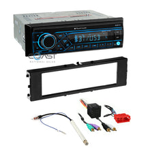 Load image into Gallery viewer, Planet Audio Radio Bluetooth 1 Din Dash Kit Harness For 1996-2006 Audi A4 A6 A8