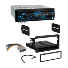 Load image into Gallery viewer, Planet Audio Radio Bluetooth 1 Din Dash Kit Harness For 2003-06 Kia Sorento EX