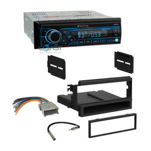 Planet Audio Radio Bluetooth 1 Din Dash Kit Harness For 2003-06 Kia Sorento EX