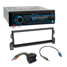 Load image into Gallery viewer, Planet Car Audio Stereo Single Din Bluetooth Dash Kit For 2002-2006 Mini Cooper