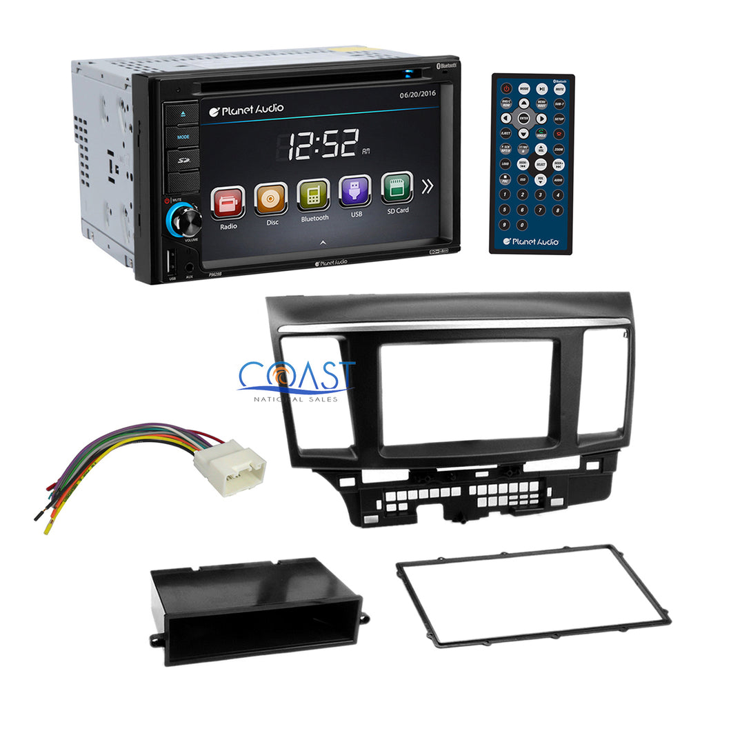 Planet Audio Car Radio Stereo Dash Kit Harness for 2007-up Mitsubishi Lancer
