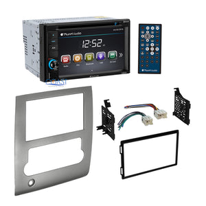 Planet Audio Car Radio Stereo 2 Din Dash kit Harness for 2008-2013 Nissan Titan