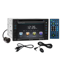 Load image into Gallery viewer, Planet Audio DVD Camera Stereo Dash Kit Harness for Nissan Pathfinder Xterra
