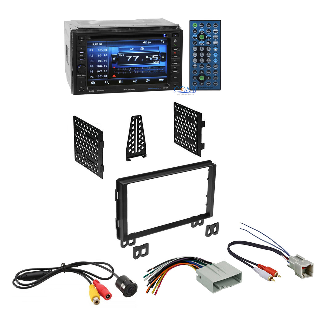 Planet Audio Car Stereo 2Din Dash Kit Harness for 2003-06 Ford Lincoln Mercury