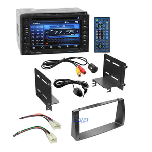 Planet Audio Car Stereo Double Din Dash Kit Harness for 03-08 Toyota Corolla