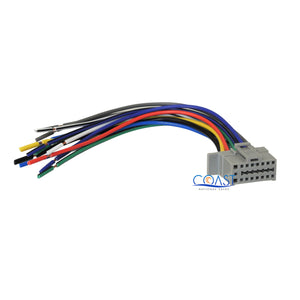 16-pin replacement wire harness for 2004+ panasonic car radio ... panasonic car radio wiring  installer outlet