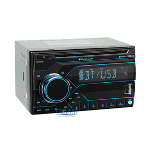 Planet Audio USB Bluetooth Radio Dash Kit Amp Harness for Ford Lincoln Mercury