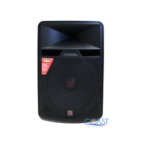 "Mr Dj PBX-5000BT 18"" 2-Way 5000 W Portable Speaker w/ Bluetooth USB MP3 SD Slot"