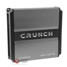 Load image into Gallery viewer, Crunch PD1100.2 1100W 2-Channel Power Drive Series Class AB Car Audio Amplifier