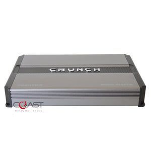 Crunch PD2000.2 2000W 2-Channel Power Drive Series Class AB Car Audio Amplifier