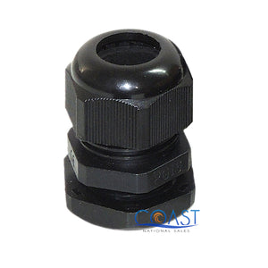 Durable Pro Waterproof UV Resistant Black Nylon Connector Grommet 10-14mm Dia.