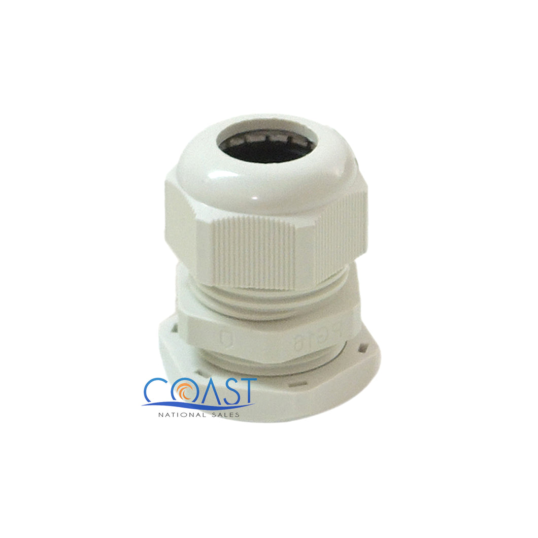 Durable Pro Waterproof UV Resistant White Nylon Connector Grommet 0.19