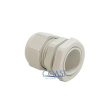 "Load image into Gallery viewer, 10X Durable Waterproof UV Resistant White Nylon Connector Grommet 0.47""- 0.59"""