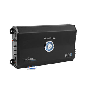 Planet Audio Pulse 2000W Monoblock Class A/B Car Power Amplifier PL2000.1M