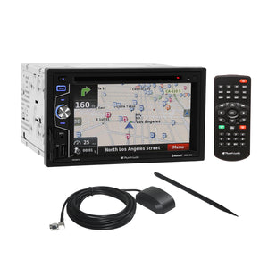 Planet Audio DVD GPS SD Playback Bluetooth Stereo Receiver + Rear View Camera