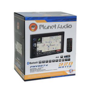 Planet Audio GPS Bluetooth Stereo Gray Dash Kit Harness for 2013+ Nissan Sentra