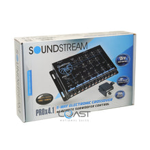 Load image into Gallery viewer, Soundstream 4-Way Full Range Electronic Crossover w/ Remote Level Control Knob