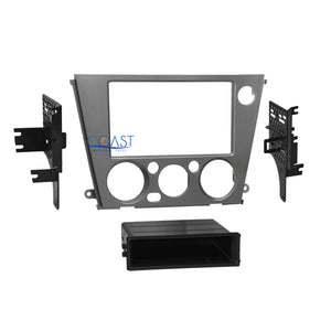 Car Radio Stereo Single Double Din Dash Kit for 2005-09 Subaru Legacy Outback