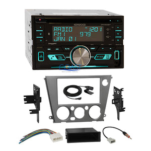 Kenwood CD USB Sirius Stereo Dash Kit Harness for 05-09 Subaru Legacy Outback