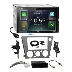 JVC Carplay Bluetooth Stereo Dash Kit Harness for 05-09 Subaru Legacy Outback