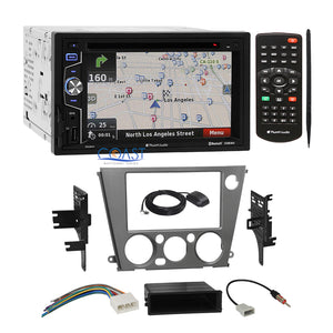 Planet Audio GPS Bluetooth Stereo Dash Kit Harness for Subaru Legacy Outback