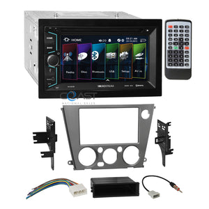Soundstream DVD Bluetooth Radio Dash Kit Harness for 05+ Subaru Legacy Outback