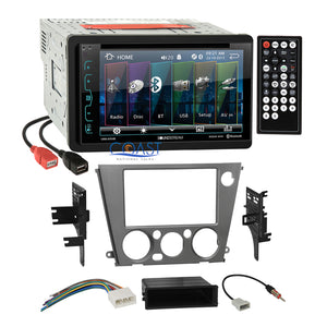 Soundstream DVD Dual USB Stereo Dash Kit Harness for 05+ Subaru Legacy Outback
