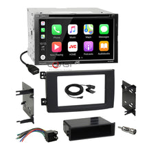 Load image into Gallery viewer, JVC DVD USB BT Sirius Carplay Stereo Dash Kit Harness for 2008-10 Smart Fortwo