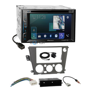 Pioneer Sirius AppRadio Stereo Dash Kit Harness for Subaru Legacy Outback 05-09