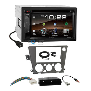 Kenwood Sirius Spotify Stereo Dash Kit Harness for Subaru Legacy Outback 05-09