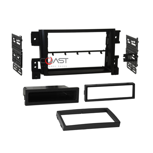 Car Radio Stereo Din 2Din Dash Kit Trim Panel For 2006-UP Suzuki Grand Vitara