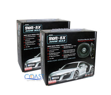 "Load image into Gallery viewer, 2X Earthquake Sound SWS-8X 8"" 150W Single 4 Ohm Car Shallow Subwoofer WS8X"