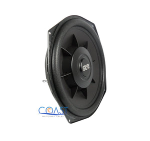 """2x Earthquake Sound SWS-8Xi Single 2 Ohm 8/"""" 150W Car Subwoofer w// Ring Adapters"""