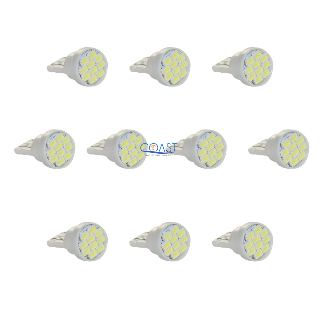 Ultra Bright 10 High Power Samsung LED Wedge Interior Light Bulb T10 T15 10 pcs