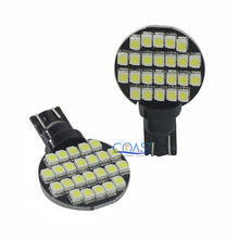 Load image into Gallery viewer, Ultra Bright 24 SMD 3528 High Power White LED Marine Light Bulb T10 T15 Pair