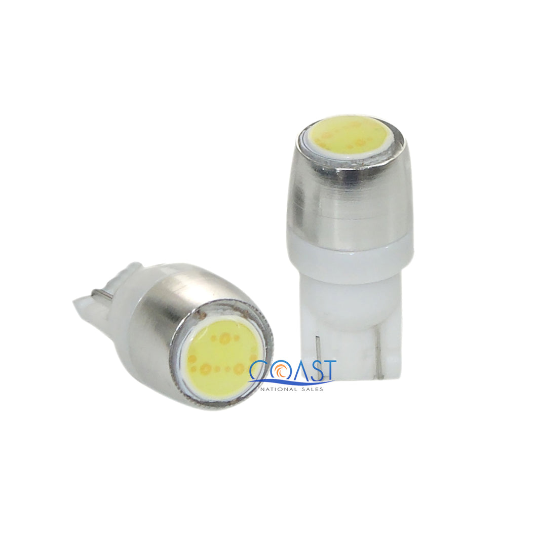 Ultra Bright High Power LED Interior Wedge Light Bulbs T10 T15 - 2 pcs