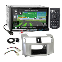 "Load image into Gallery viewer, Pioneer 7""DVD Wifi Carplay GPS Stereo Dash Kit Harness for 10-13 Toyota 4Runner"