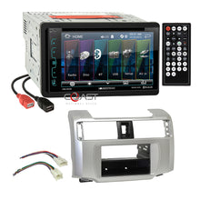 Load image into Gallery viewer, Soundstream DVD USB Bluetooth Stereo Dash Kit Harness for 10-13 Toyota 4Runner