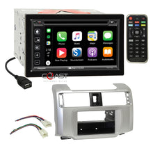 Load image into Gallery viewer, Soundstream Carplay Bluetooth Stereo Dash Kit Harness for 10-13 Toyota 4Runner