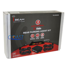 Load image into Gallery viewer, Ibeam TE-4PSKRUB Universal Rear Parking Assist Kit LED Detect 4 Rubber Sensors