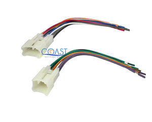 Car Radio Stereo Single Din Dash Kit Wire Harness for 2000-up Toyota Scion