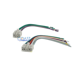 Car Radio Stereo Single DIN Dash Kit Wiring Harness for 2003-2008 Toyota Scion