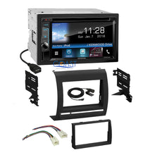 Load image into Gallery viewer, Kenwood DVD Sirius Waze Spotify Stereo Dash Kit Harness for 05+ Toyota Tacoma