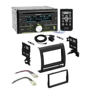 Pioneer Car Stereo Radio 2 Din Dash Kit Wire Harness for Toyota Tacoma 2005-11