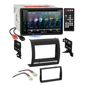 Soundstream DVD USB Bluetooth Stereo Dash Kit Harness for 05-11 Toyota Tacoma