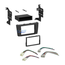 Load image into Gallery viewer, Single Double DIN Car Stereo Dash Kit Harness Combo for 2007-2012 Toyota Camry