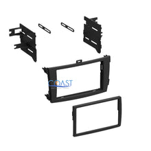 Load image into Gallery viewer, Stereo Single Double DIN Dash Kit w/ Harness Combo for 2009-2011 Toyota Corolla